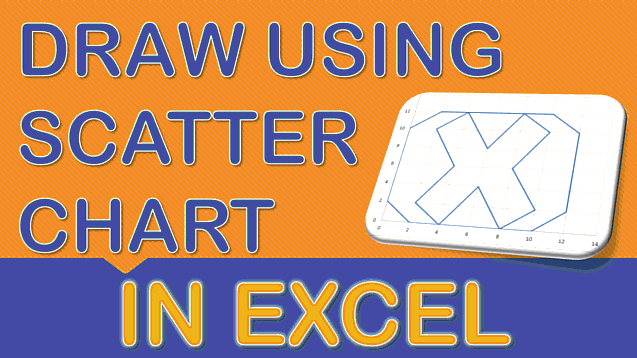 Draw a Logo with a Scatter Chart in Excel