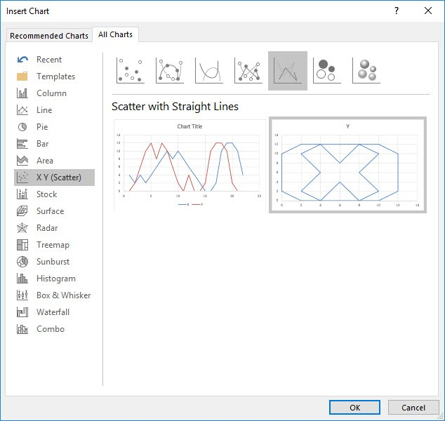 Draw a Logo with a Scatter Chart in Excel   MyExcelOnline