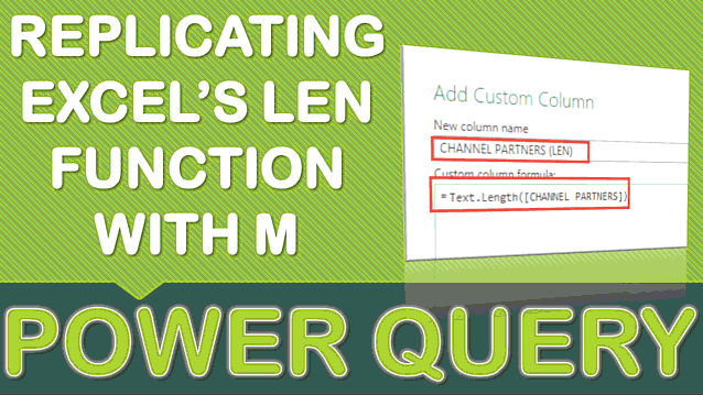 Replicating Excel's LEN Function with M in Power Query