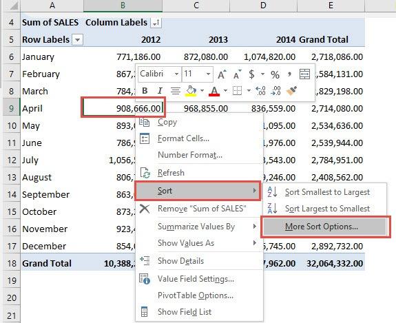 how to arrange numbers in ascending order in excel 2013