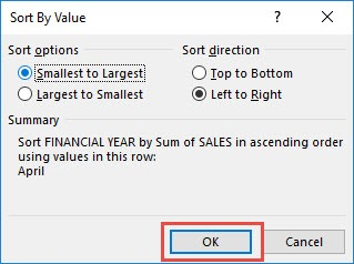 Sort an Item Row (Left to Right) With Excel Pivot Tables | MyExcelOnline