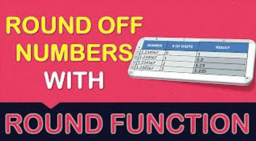 Round Off Numbers with Excel's ROUND Formula