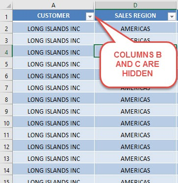 How to Unhide Columns in Excel | MyExcelOnline