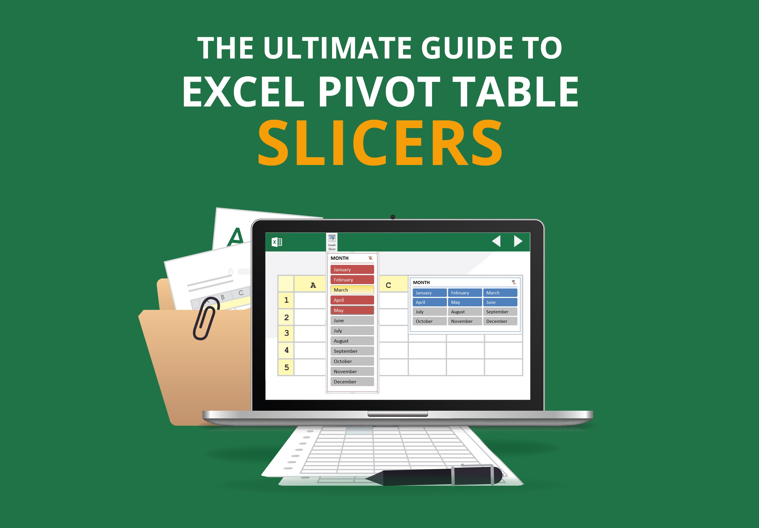 The Ultimate Guide to Excel Pivot Table Slicers | Free