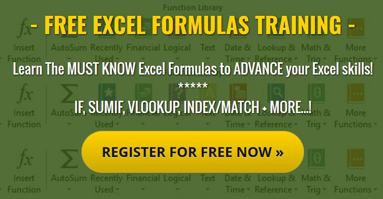 Free Excel Webinar Online Training Courses | Free Microsoft