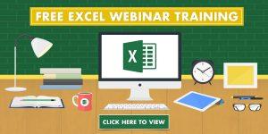 017: Free Microsoft Excel Webinars | MyExcelOnline