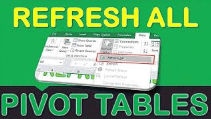 Refresh All for Excel Pivot Tables