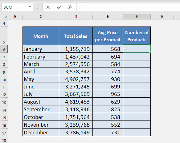 How to Divide in Excel with the Division Formula | MyExcelOnline