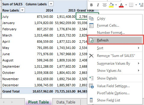 Clear & Delete Old Pivot Table Items | Free Microsoft Excel Tutorials