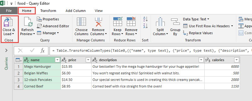 Import Data from XML Using Power Query or Get & Transform