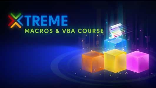 Xtreme Macros & VBA Excel Online Course