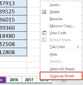 How to Group Worksheets in Excel | Free Microsoft Excel ...