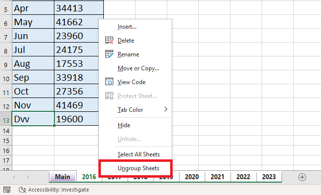 How to Group Sheets in Excel: A Step-by-Step Tutorial | MyExcelOnline