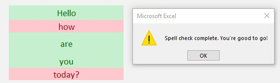 How to Correct Spelling in Excel