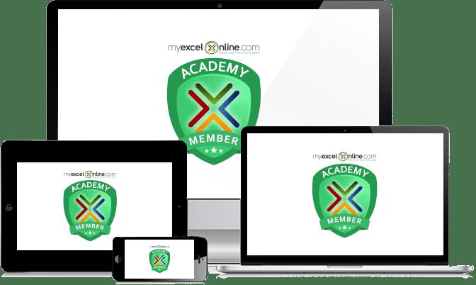 he MyExcelOnline Academy Online Excel Course