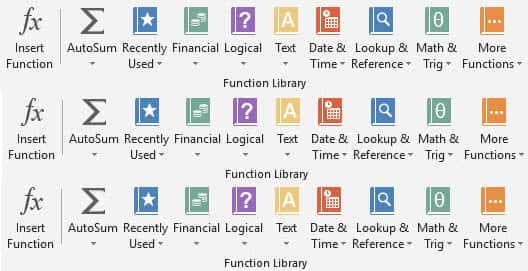 free excel formuls training