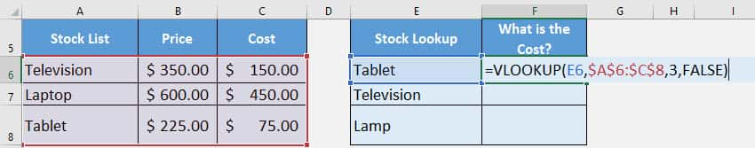 How to Combine VLOOKUP and IFERROR to Replace the #N/A Error in Excel