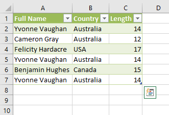 Extract Length in Power Query