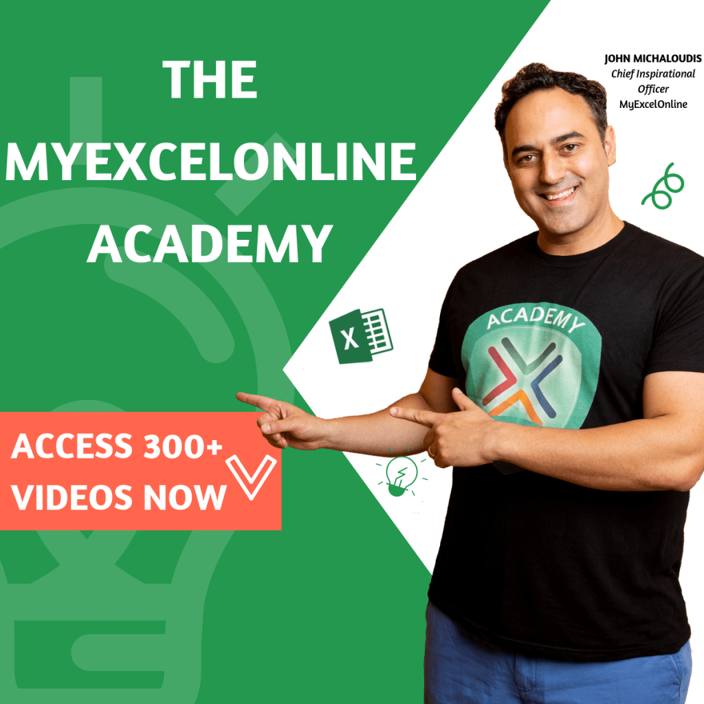 The MyExcelOnline Academy