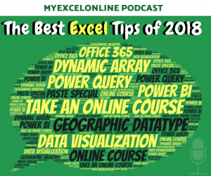 Top Microsoft Excel Tips & Tricks of 2018!