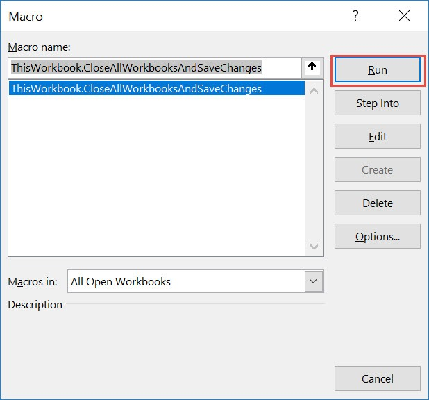 CloseAll Workbooks and Save Changes Using Macros In Excel | MyExcelOnline