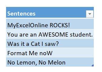 Reverse Text Function Using Macros In Excel | MyExcelOnline