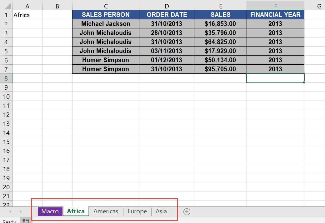 Save Each Worksheet as a PDF File Using Macros In Excel | MyExcelOnline