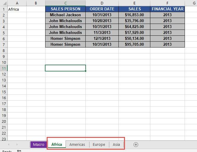 Unhide All Worksheets Using Macros In Excel | MyExcelOnline
