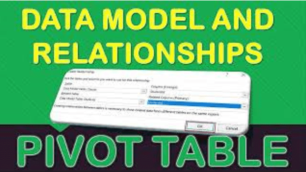 Data Model and Relationships In Microsoft Excel Pivot Tables
