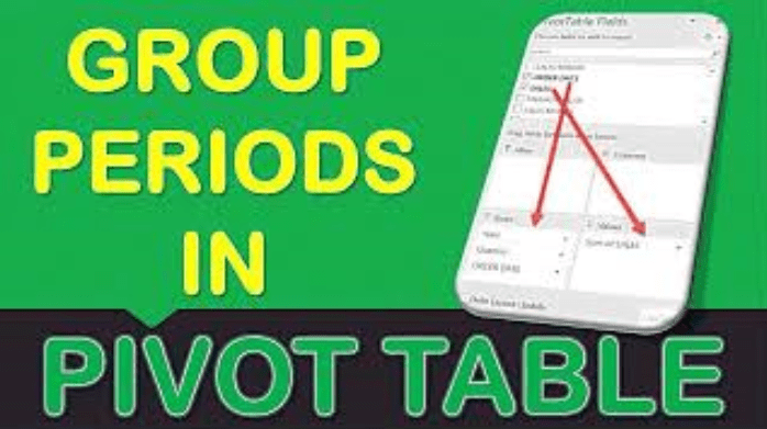 Group Periods In Microsoft Excel Pivot Tables