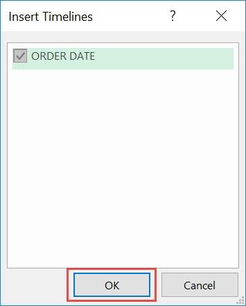 Timeline Slicer in Excel
