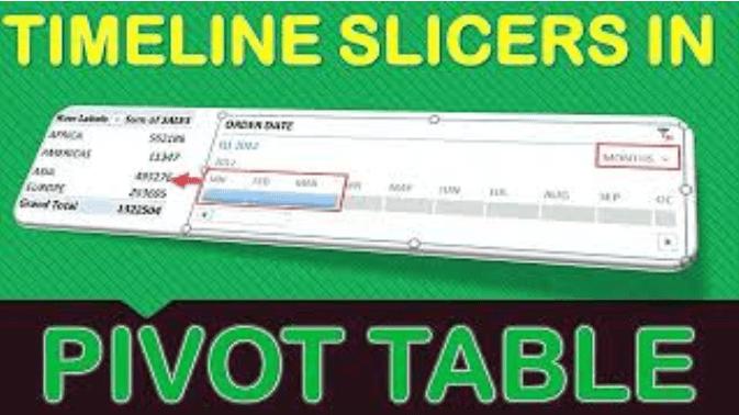 Timeline Slicers In Microsoft Excel