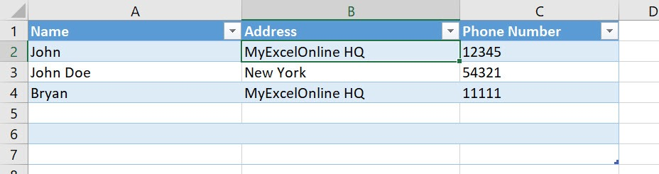 Use the Data Entry Form Using Macros In Excel | MyExcelOnline