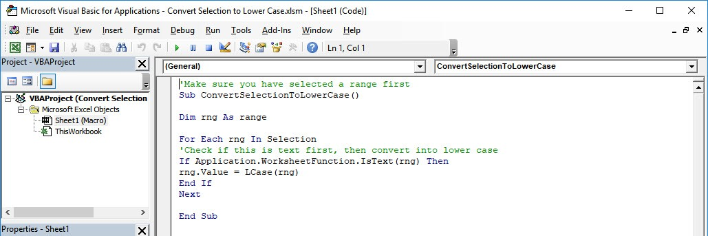 case download lowr convert text to