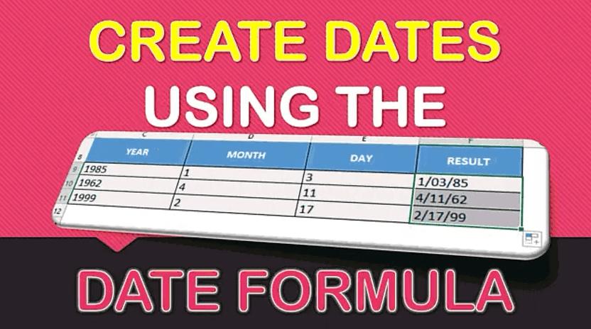 DATE Formula in Excel