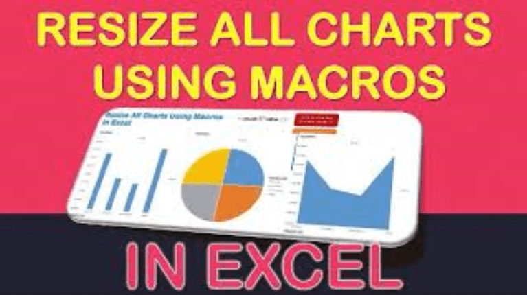 Resize All Charts Using Macros In Excel