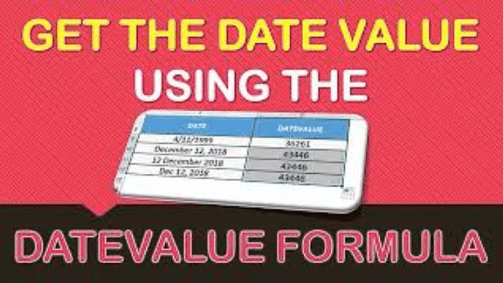 DATEVALUE Formula in Excel