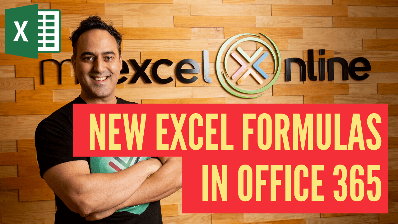 New Excel Formulas in OFFICE 365: FILTER, RANDARRAY, SEQUENCE, SORT, SORTBY and UNIQUE! | MyExcelOnline