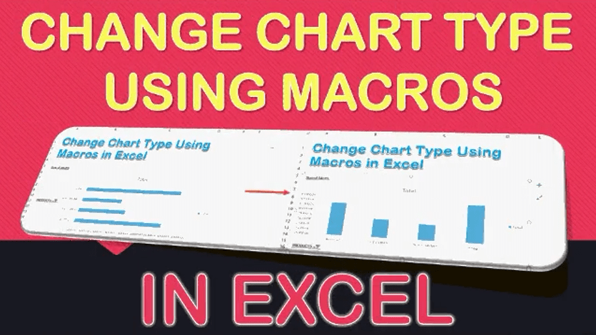 Change Chart Type Using Macros In Excel