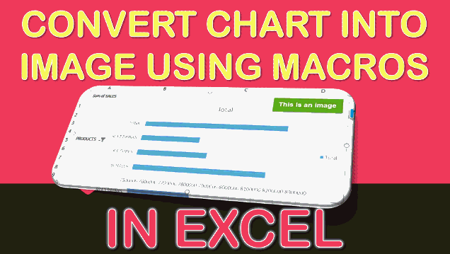 Convert Chart into Image Using Macros In Excel