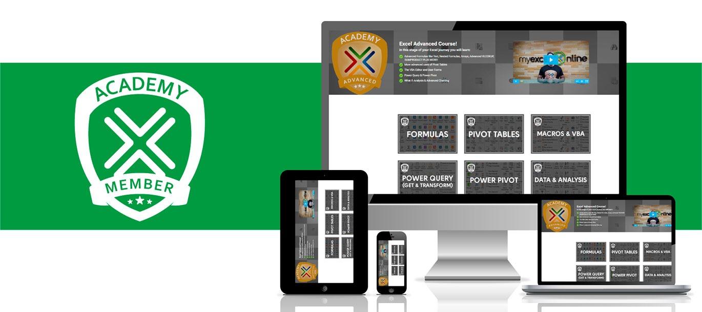 MyExcelOnline Academy Online Course