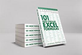 101 Most Popular Excel Formulas on Amazon