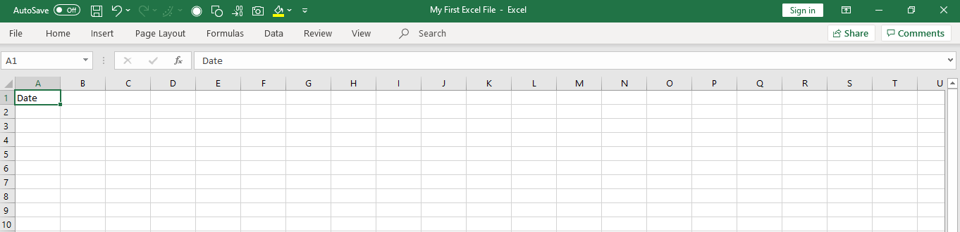 excel ribbon collapsed