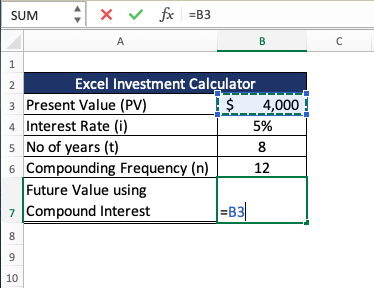 Calculate your Monthly Investment with Excel's FV Formula | MyExcelOnline