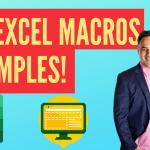 101 Excel Macros Examples