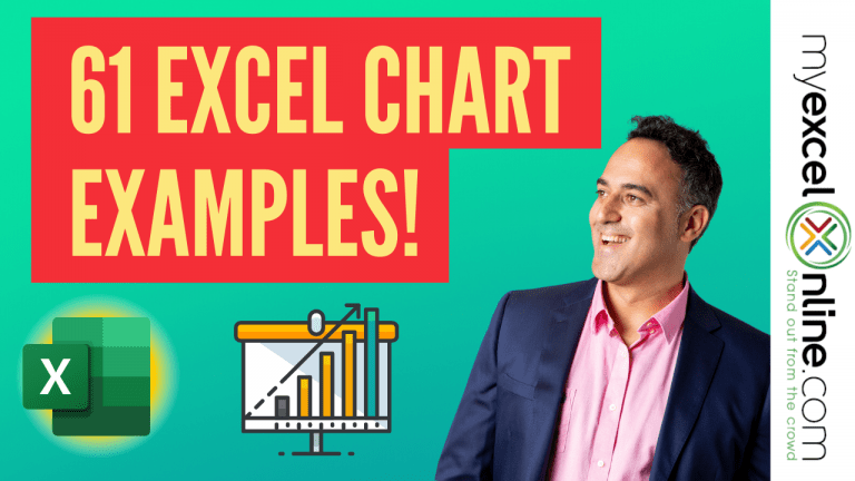 61 Excel Charts Examples! | MyExcelOnline