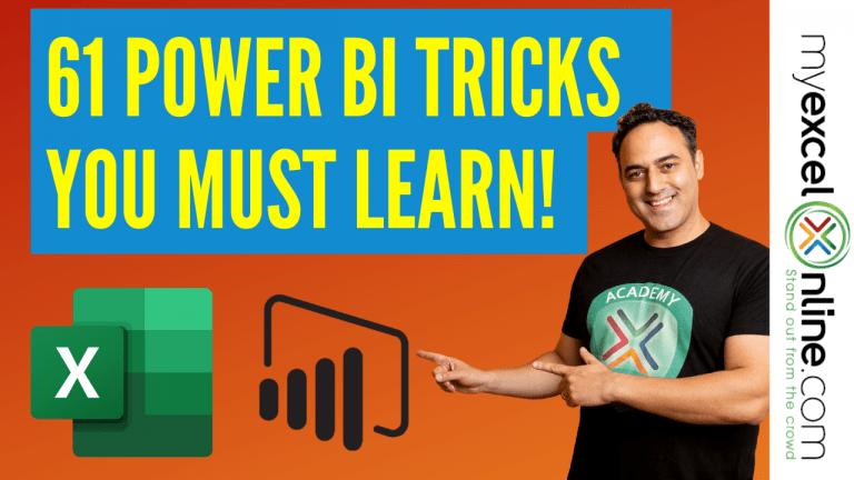 61 Power BI Tricks You Need to Learn Now | MyExcelOnline