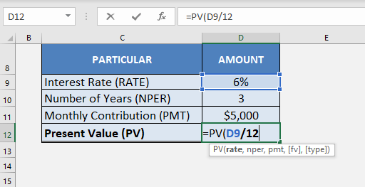 5 Ways of Using Excel as a Time Value of Money Calculator | MyExcelOnline