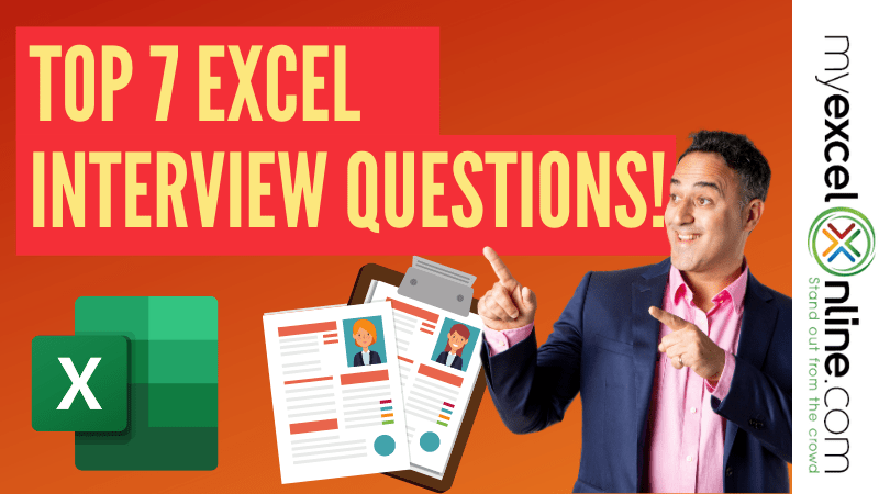 excel interview questions