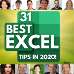 028: The Best Microsoft Excel Tips & Tricks in 2020!